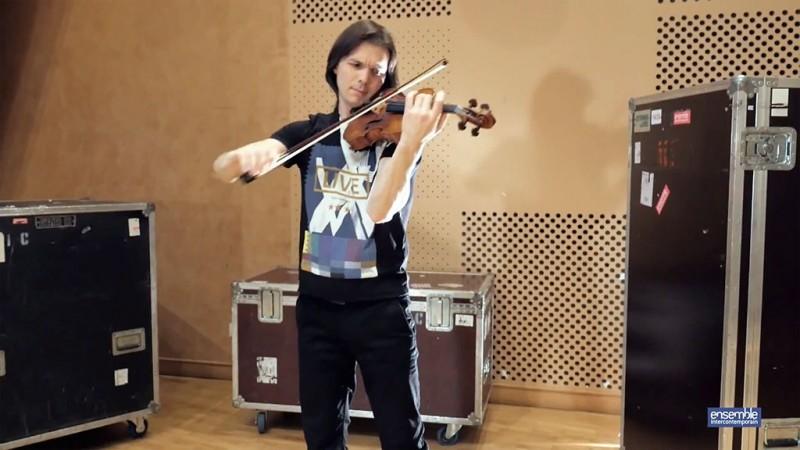 Présentation en musique de Diego Tosi