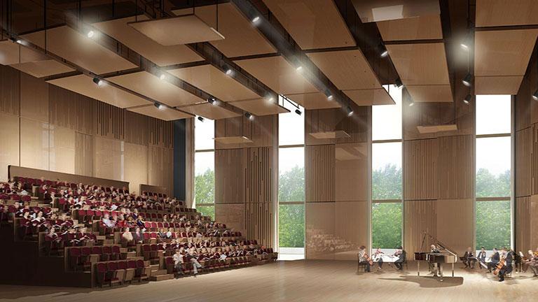 Salle de répétition : Philharmonie 1