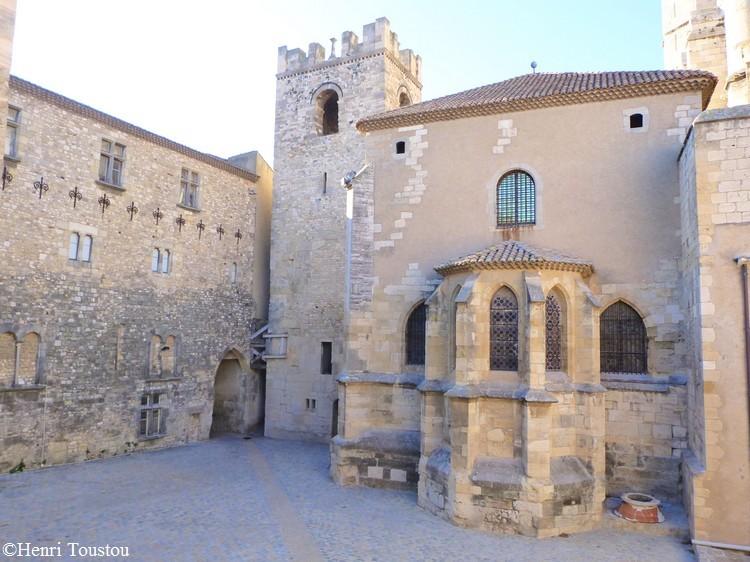 Cour de la Madeleine à Narbonne