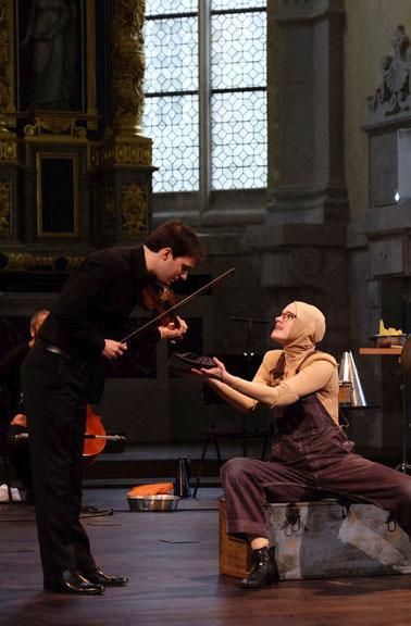 Diego Tosi avec Pinocchio
