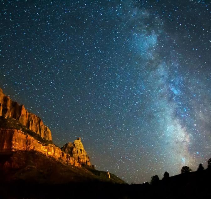 canyon étoiles