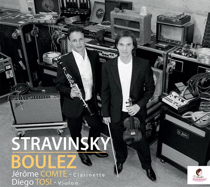 Stravinsky - Boulez : Jérôme Comte & Diego Tosi
